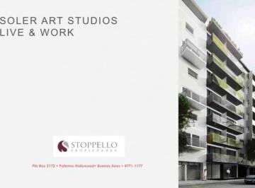 Oportunidad en Palermo Hollywood Preventa Soler Art Studios