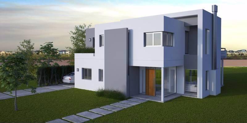 Lindisima casa moderna a estrenar al lago gba norte for Casa moderna todos santos